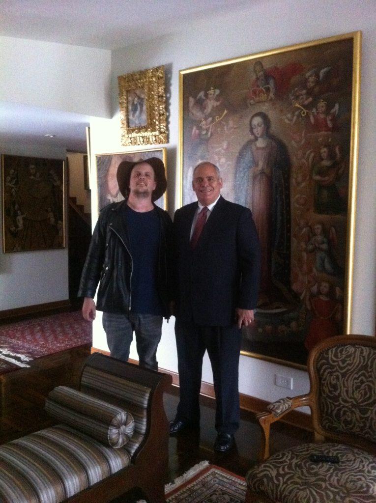 Me and Francisco Yabar