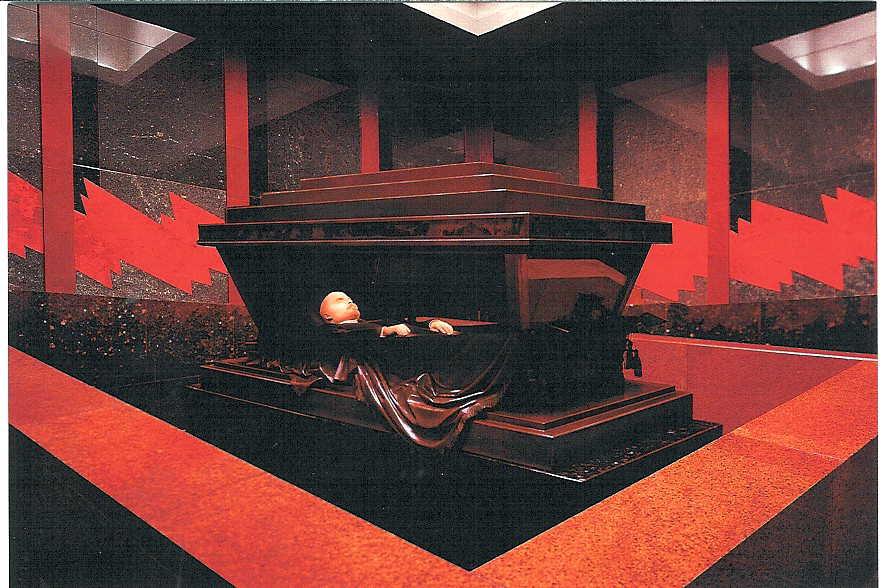 Lenin's Mausoleum Photo: Larry Koester